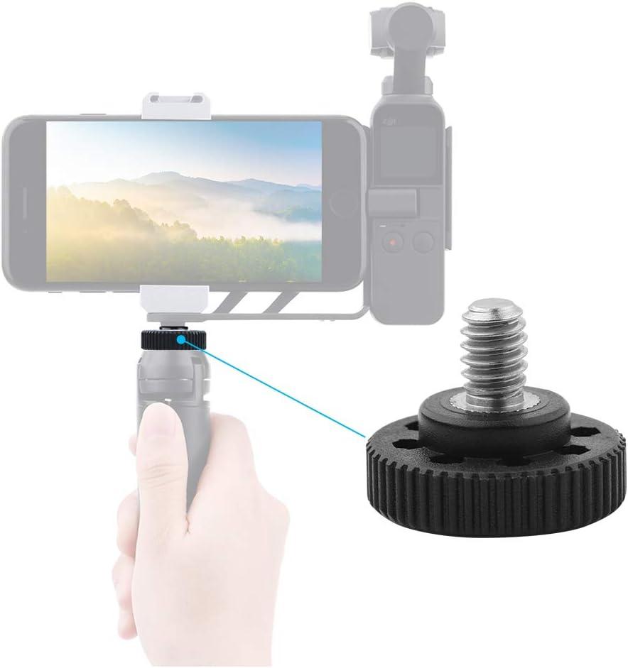 RONSHIN 1//4 Camera Screw Quick Release Camera Fixing Screw for Samsung Canon Nikon DSLR SLR Camera Tripod or Plate 1pc
