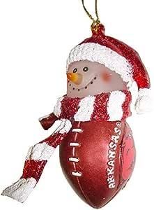 Amazon.com: NCAA Arkansas Razorbacks Football Striped ...