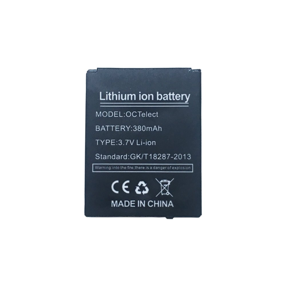 Amazon.com: Smart watch battery DZ09 rechargable lithium battery with 380MAH capacity: Electronics