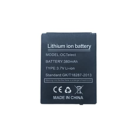 Batterie Smartwatch DZ09 pile au lithium rechargeable avec capacité 380MAH: Amazon.fr: High-tech