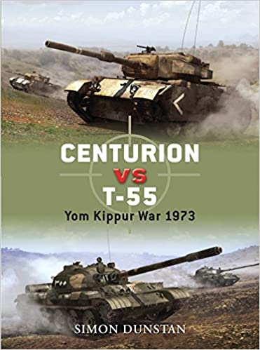 Book Centurion vs T-55: Yom Kippur War 1973 (Duel)
