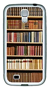 Book Shelf Theme Samsung Galaxy S4 i9500 Case TPU Material by supermalls