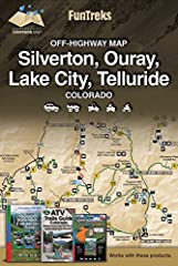 "Two-sided, 18"" X 24"" waterproof map.Easy, moderate and difficult routes for all skill levels.Custom made for OHV use.Trusted trail information in an easy-to-read format.Detailed relief backgrounds and street maps of nearby towns.Important loc..."