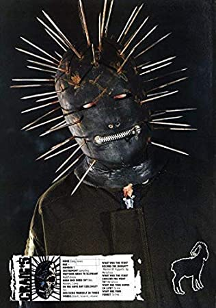 Desconocido Slipknot Craig 133 Jones 5 Póster Foto Iowa ...