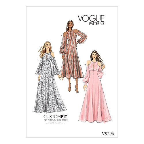 - Vogue V9296 Women's Special Occasion Dress Sewing Pattern, Sizes 6-14