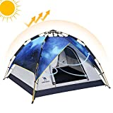 Camel Fourth-Generation Automatic Hydraulic Tent for 2-5 Person Outdoor Rainproof Camping