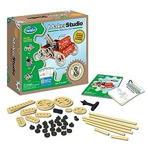 Think Fun Maker Studio - Winches Building Kit