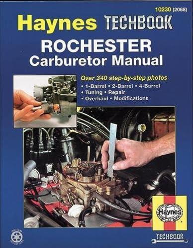 rochester carburetor manual haynes repair manuals mike rh amazon com solex pierburg carburettor haynes manual Haynes Manual Monte Carlo Back