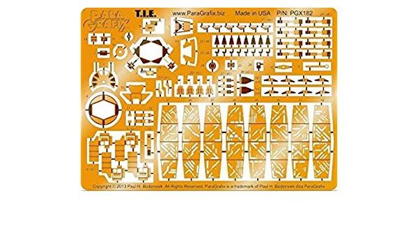Star Wars PGX180 Fine Molds Millennium Falcon Photoetch Set 1:72