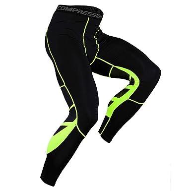Trisee - Pantalones de Deporte para Hombre (elásticos, con Body ...