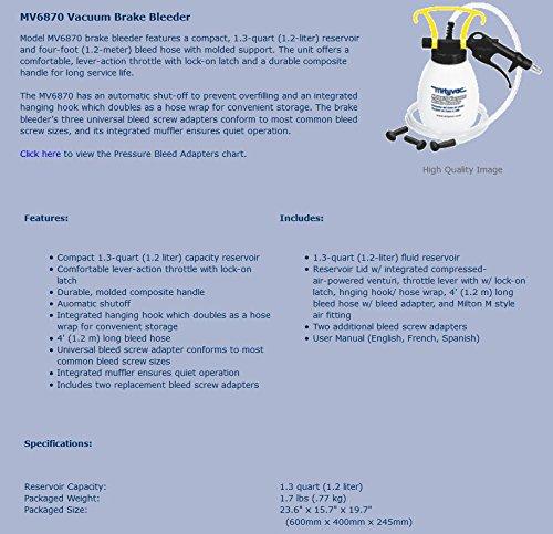 Mityvac MV6870 Vacuum Brake Bleeder by Mityvac (Image #1)
