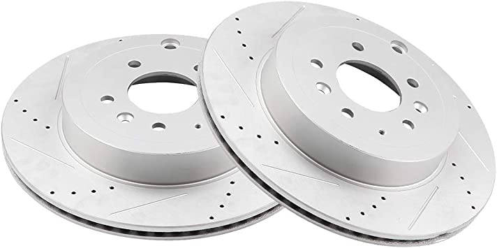 2014 2015 2016 For BMW X3 Rear Disc Brake Rotors and Ceramic Pads