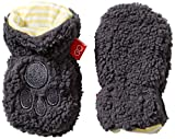 Magnificent Baby Unisex-Baby Infant Fleece Mittens, Ash/Lemon, 6-12 Months