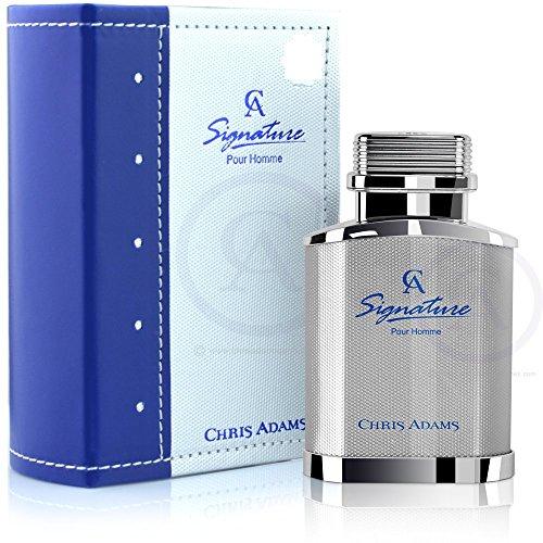 New HOT - Signature pour les hommes de Chris Adams - 80ml Eau De parfum avec une odeur Unique - Titanium Collection