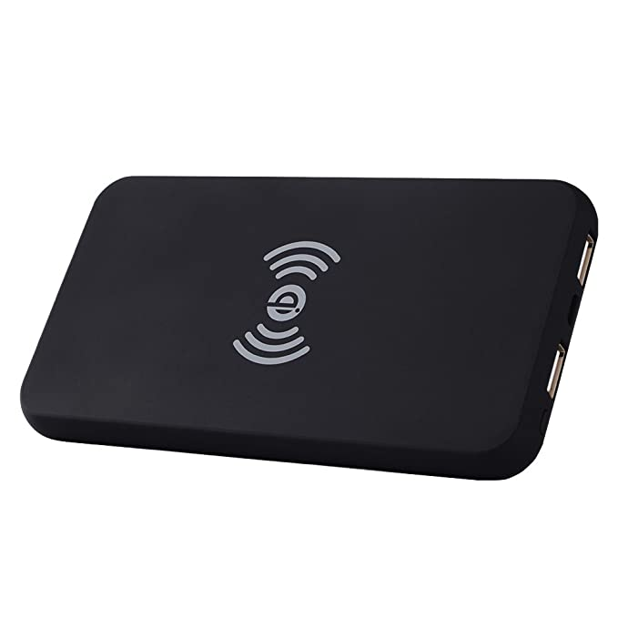 Wireless Charger Power Bank,Angeliox 10W Fast Wireless Charging Pad for Samsung S9,S9+,S8 Plus,S7 Edge,Note 9/8/5, 8000mAh Qi Portable External ...