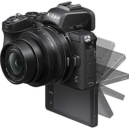 Nikon Z50 Mirroless Camera Body with NIKKOR Z DX 16-50mm f/3.5-6.3 VR & NIKKOR Z DX 50-250mm f/4.5-6.3 VR Lens 5