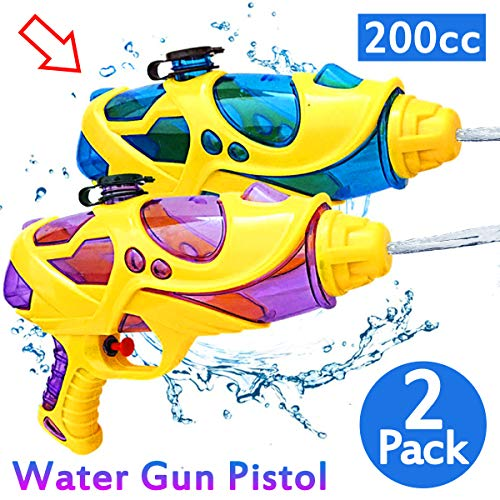 LANDYLO Water Guns for Kids Super Soaker Squirt Gun Pool Toys Water Gun Pistol Water Toys for Pool Party Favors Supplies, 16.5 Foot Shooting Blaster Water Fight Toys Summer Adults Outdoor Beach Games (Best Water Gun For Shooting Cats)