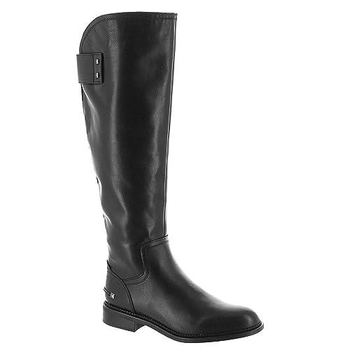 b5abff9a67b Franco Sarto Womens Henrietta Leather Almond Toe Knee High Fashion Boots