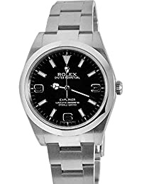 Explorer 1 Black Dial Steel Mens Watch 214270. Rolex