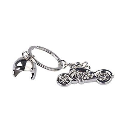 Gereton Harley - Llavero de Metal para Casco de Motocicleta