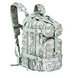 ARMYCAMOUSA Military Tactical Backpack, Small 3 Day Army Molle Assault Rucksack Pack Outdoors, Hiking, Camping, Trekking, Bug Out Bag & Travel