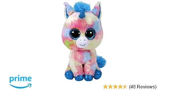 4589de4be5e Amazon.com  Ty Blitz Unicorn Beanie Boo 15cm  Toys   Games