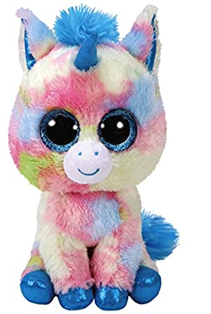 Ty Beanie Boos Blitz, Unicornio, Color Azul, 15 cm (United Labels Ibérica