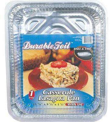 Bulk Buys Lasagna Pan with Lid 1Ct - Case of 12 by bulk buys