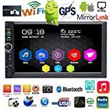 Binize 7 Inch Android 9.1 HD Quad-Core 2 Din Car Stereo Radio Multimedia Player NO-DVD GPS Navigation in-Dash Auto Radio Bluetooth/USB/WiFi DVR (2GB RAM+32GB ROM)