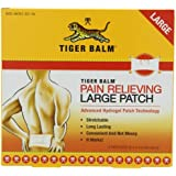 "TIGER BALM PAIN RELIEVING LARGE PATCH 8""X4"",   (Pack of 2)"
