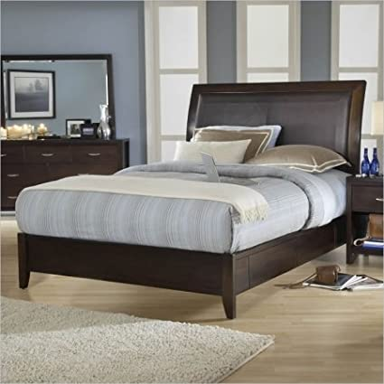 modus bedroom furniture modus urban. Modus Furniture 2O26D6 Urban Loft Storage Bed With Synthetic Leather Headboard Panel, California King, Bedroom F