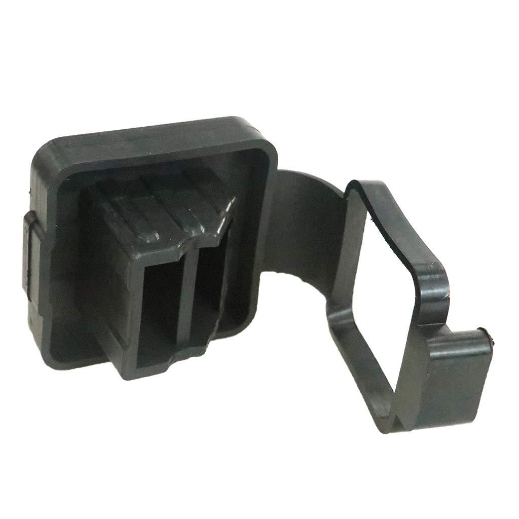 perfk Gummischlauch Abdeckung 2-Zoll Anh/ängerkupplung Aufnehmer