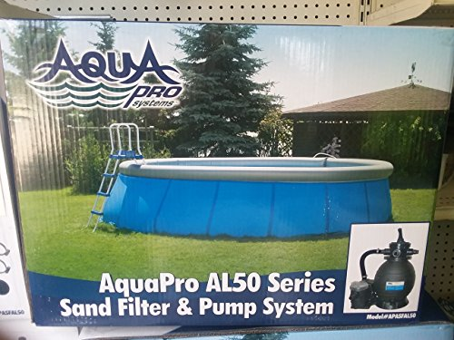 AquaPro AL50 Series Sand Filter & Pump (Aqua Pro Swimming Pool)