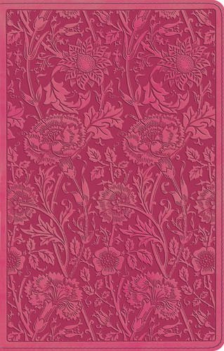 ESV UltraThin Bible (TruTone, Berry, Floral - Mall Four Seasons Map