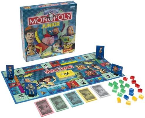 Toy Story Monopoly Junior: Amazon.es: Juguetes y juegos