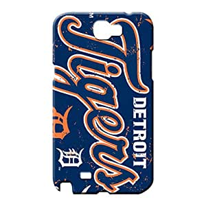samsung note 2 Popular Pretty Back Covers Snap On Cases For phone mobile phone carrying shells detroit tigers mlb baseball