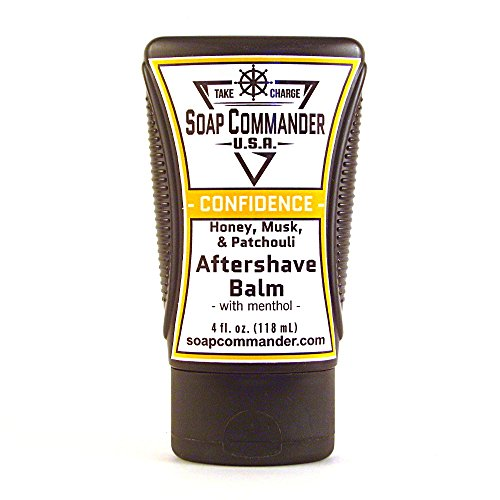Soap Commander Aftershave Balm with Menthol (Integrity - Unscented)