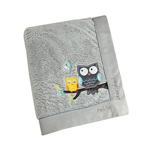 (Koala Baby Super Soft Cuddle Plush Baby Blanket, Owl Be Cherished,)