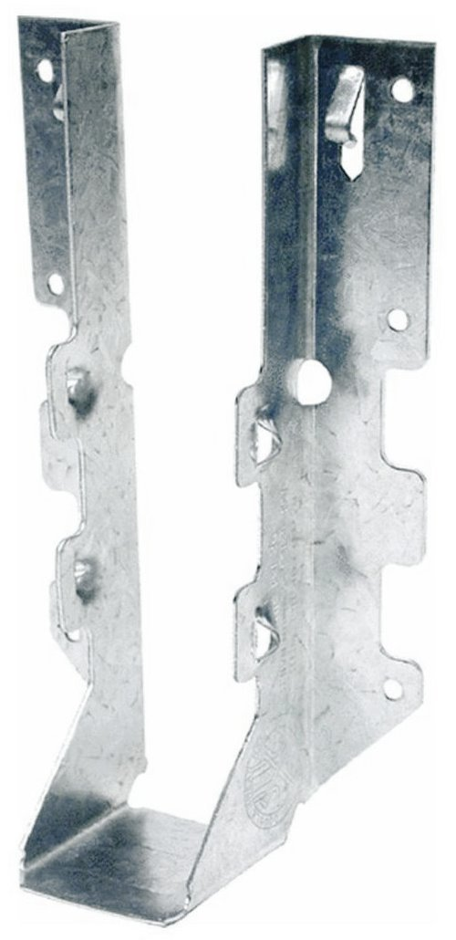 Simpson Strong Tie LUS28Z ZMAX Galvanized 2x8 Double Shear Face Mount Joist Hanger 50-per box