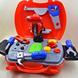 Kennedy Pretend Play Tool Kit Set with Carry Case Great Christams Toy Gifts for Boys Girls Kids 3 Years Old