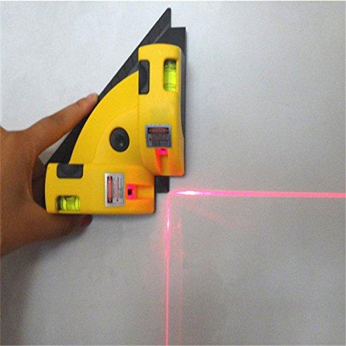 Nouvel Angle droit à 90degrés vertical horizontal Ligne Laser lampe de carré Niveau Quality