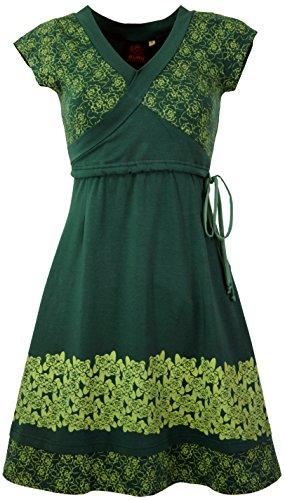 Boho Alternative Kurze Minikleid Guru Synthetisch Shop Bekleidung Kleider Damen Organic Grün Kleid Rose wfEx4qv8