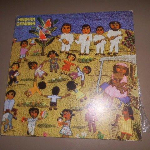 Hernan Gambo (Musica Para Niños) Sonografica // Vinyl (Cancion De Mambru Se Fue A La Guerra)