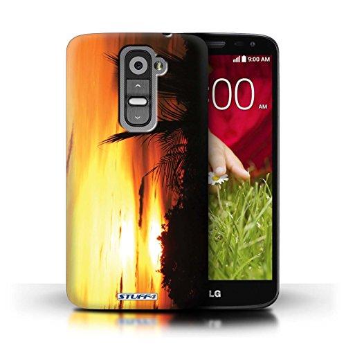 Kobalt® Imprimé Etui / Coque pour LG G2 Mini/D620 / Arbre en tête conception / Série Coucher du Soleil