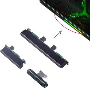 Nobrand YBLSMSH Side Keys for Xiaomi Black Shark Helo (Black) Q (Color : Black)