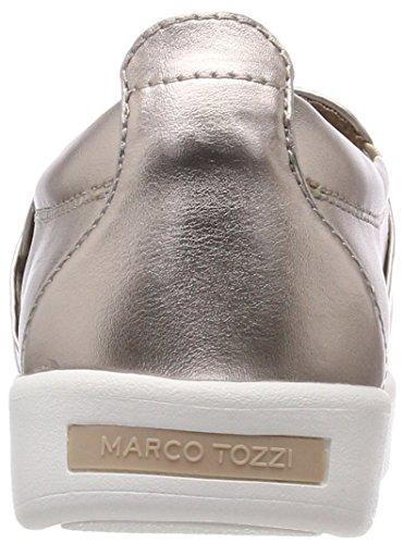 Tozzi Donna Metallic Rose Rosa Marco Mocassini 24741 vHxFwfd