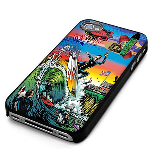 Surfing Volcom Oneill Snowboarding Case For iPhone 7 / 7S