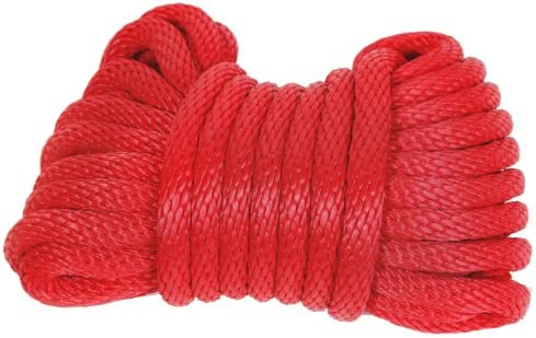 Koch 5211635 1//2 by 50-Feet Nylon Twisted 3 Strand Rope White Koch Industries