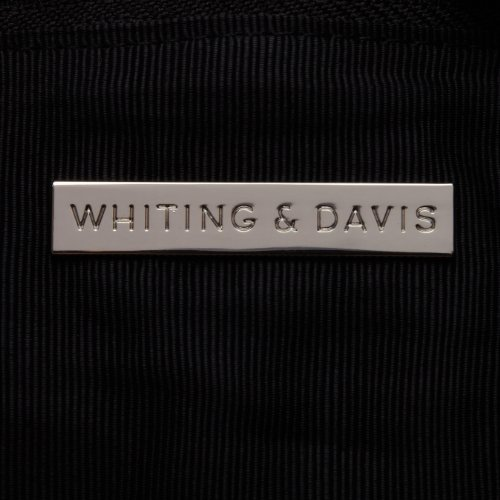 Silver Clutch Foldover Davis Whiting Black amp; Colorblock FWq7YWPSw8