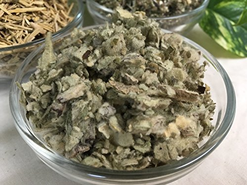 Organic Mullein Leaf Dried ~ 1 Ounce ~ Verbascum (Smoke Herb)